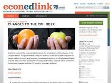 Changes to the CPI Index Lesson Plan