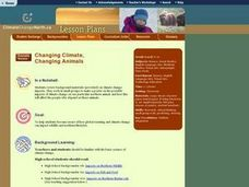 Changing Climate, Changing Animals Lesson Plan