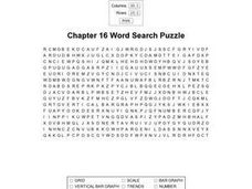 Chapter 16 Word Search Puzzle Worksheet