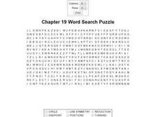 Chapter 19 Word Search Worksheet