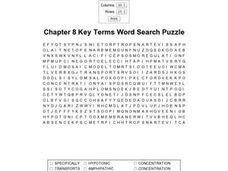Chapter 8 Key Terms Worksheet