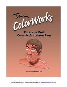 Character Bust Ceramic Art Lesson Plan Lesson Plan
