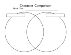 Character Comparison Worksheet