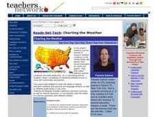 Charting the Weather Lesson Plan