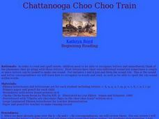 Chattanooga Choo Choo Train Lesson Plan