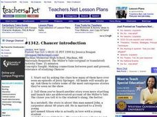 Chaucer introduction Lesson Plan
