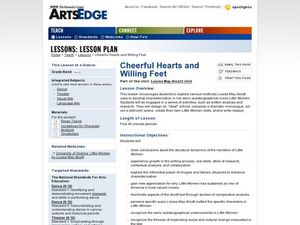 Cheerful Hearts and Willing Feet Lesson Plan