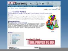 Chemical Wonders Lesson Plan