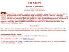 Chi-Square Lesson Lesson Plan