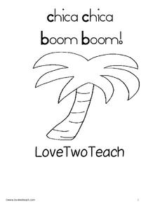 Chica Chica Boom Boom! Love Two Teach Worksheet