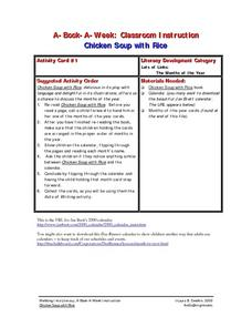 Chicken Soup With Rice Lesson Plan