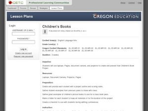 Children's Books Lesson Plan