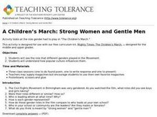 Children's March Teacher's Guide, Activity 6 Lesson Plan
