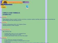 Chills And Thrills Lesson Plan