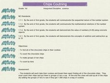 Chips Counting Lesson Plan