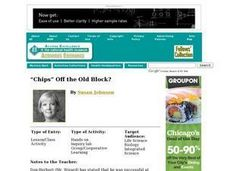 """Chips"" Off the Old Block? Lesson Plan"