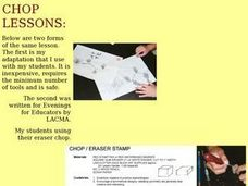 CHOP LESSONS Lesson Plan