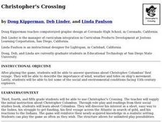 Christopher's Crossing Lesson Plan