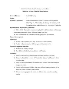 Cinderella: A Story Found in Many Cultures Lesson Plan