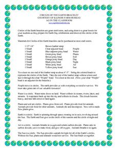Circles Of The Earth Bracelet Lesson Plan