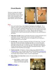 Circuit Boards Lesson Plan