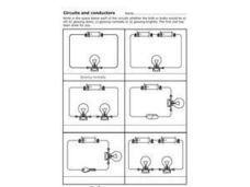 Circuits and Conductors Worksheet