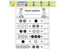 Circus Addition Worksheet