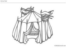 Circus Tent Worksheet