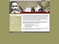 Citizenship Skills Lesson in Honor of Martin Luther King, Jr. Lesson Plan