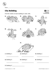 City Building Worksheet