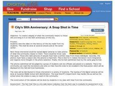 City's 50th Anniversary: A Snap Shot in Time Lesson Plan
