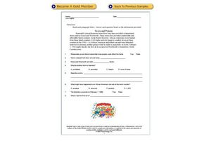 Civil Rights Worksheet