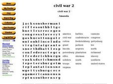 Civil War 2 Worksheet