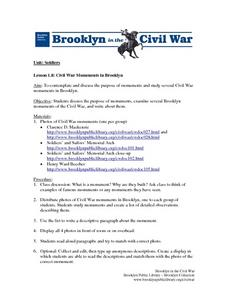 Civil War Documents In Brooklyn Lesson Plan