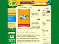 Clam-Shell Concentration Lesson Plan