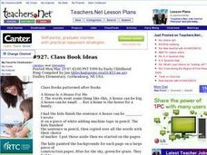 Class Book Ideas Lesson Plan