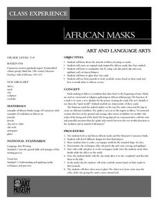 Class Experience: African Masks Lesson Plan