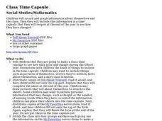 Class Time Capsule Lesson Plan
