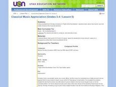 Classical Music Appreciation (Grades 3-4 / Lesson 5) Lesson Plan