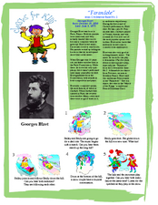 Classics For Kids (Georges Bizet) Worksheet