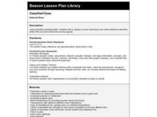 Classified Cues Lesson Plan