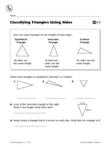 classifying triangles by sides worksheet pdf