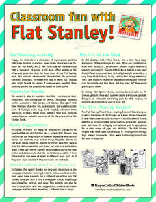 Classroom Fun with Flat Stanley Lesson Plan