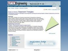 Classroom Triangles Lesson Plan