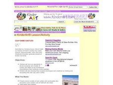 Clay Sand Castles Lesson Plan