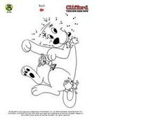 Clifford the Red Dog Worksheet