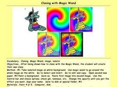 Cloning with Magic Wand Lesson Plan