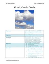 Clouds! Clouds! Clouds! Lesson Plan