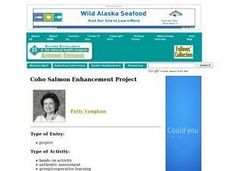 Coho Salmon Enhancement Lesson Plan