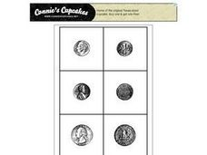 Coin Cards Worksheet